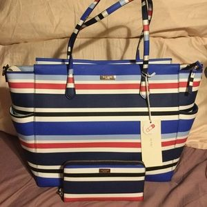 🍀1 DAY SALE🍀Kate Spade Kaylie Diaper Bag &Wallet